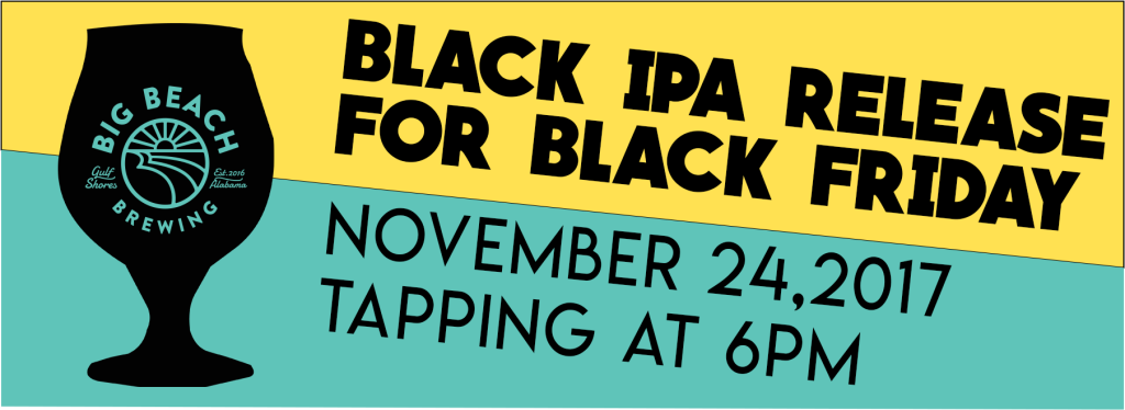 Black IPA Release for Black Friday