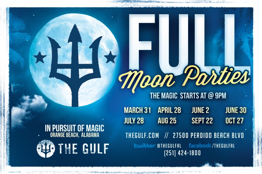 Full Moon Party at The Gulf