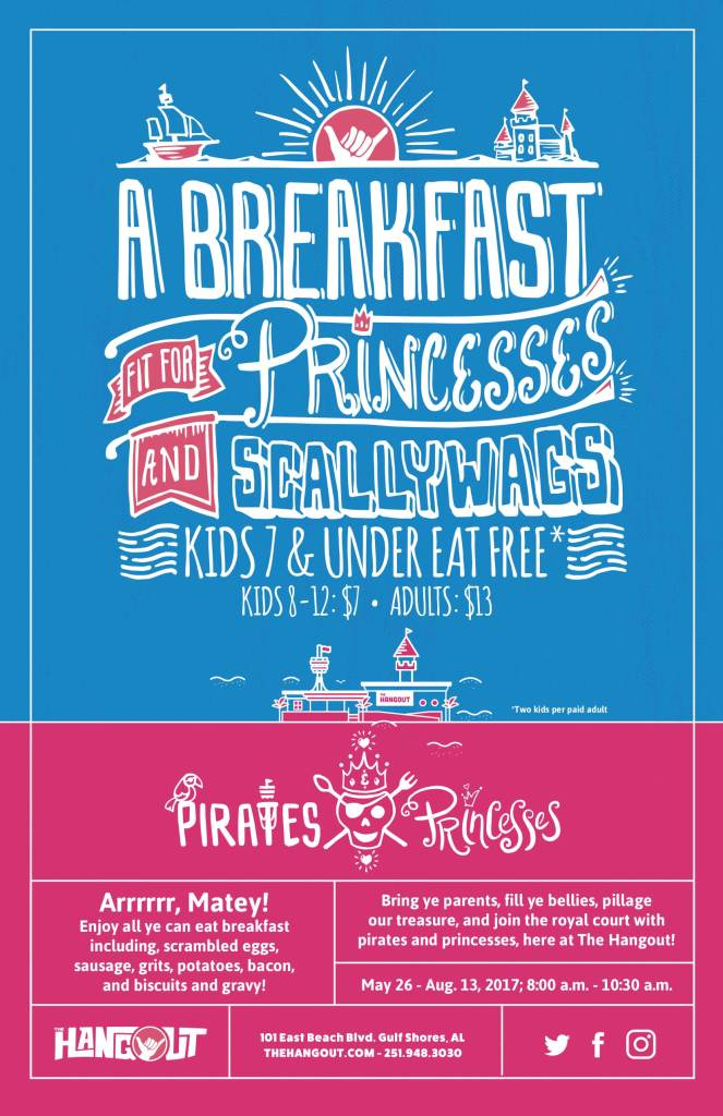 Pirates and Princesses Breakfast