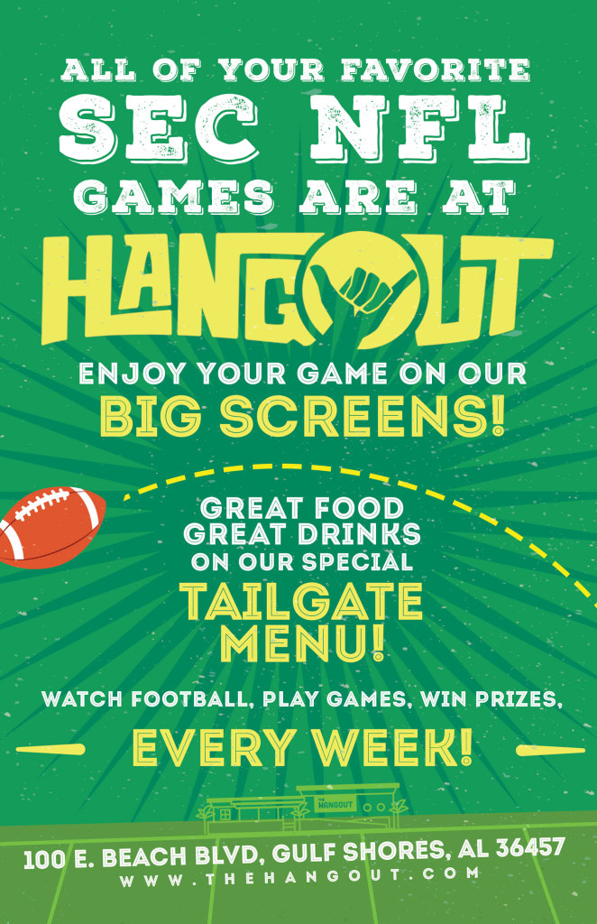 SEC and NFL Football Every Saturday and Sunday!
