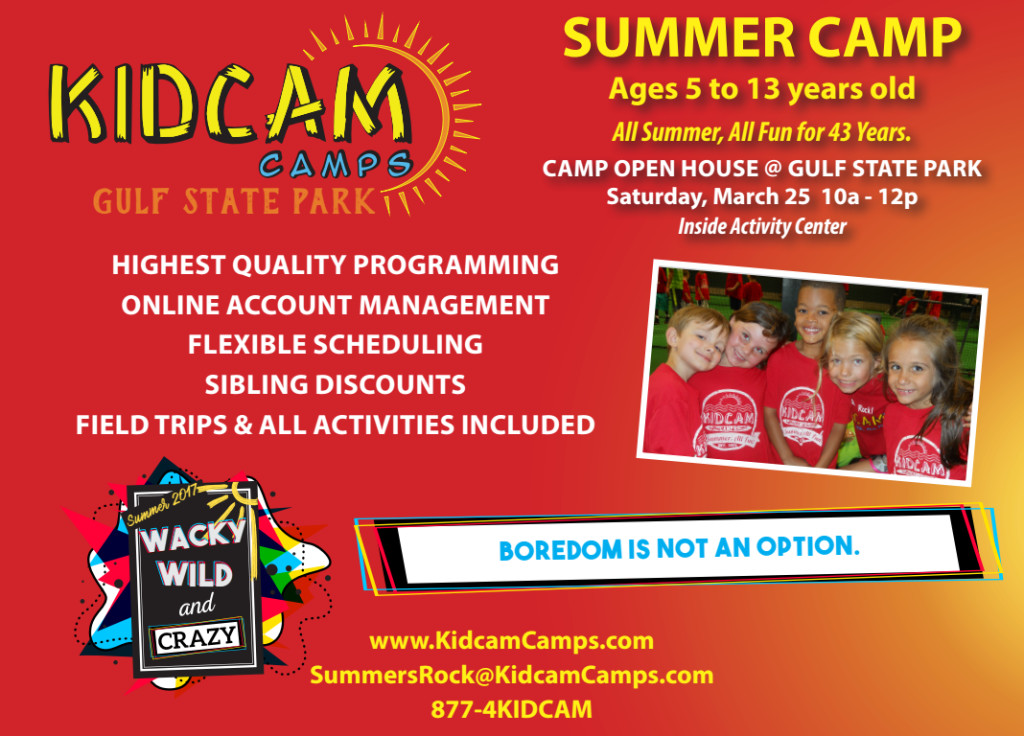Kid Cam Camp Open House