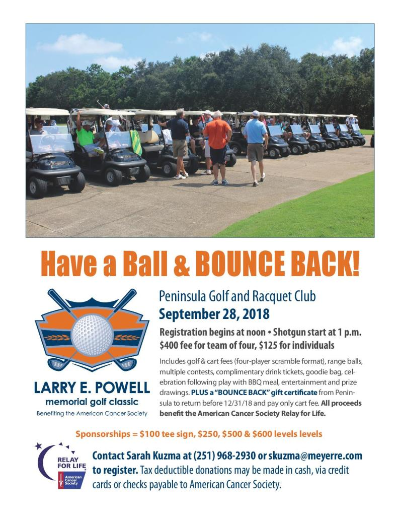 Larry E Powell Memorial Golf Classic