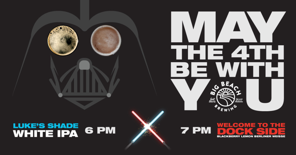 May the 4th Be With You Firkin Tapping