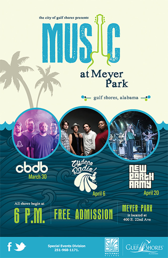 Music at Meyer Park featuring Zydeco Radio