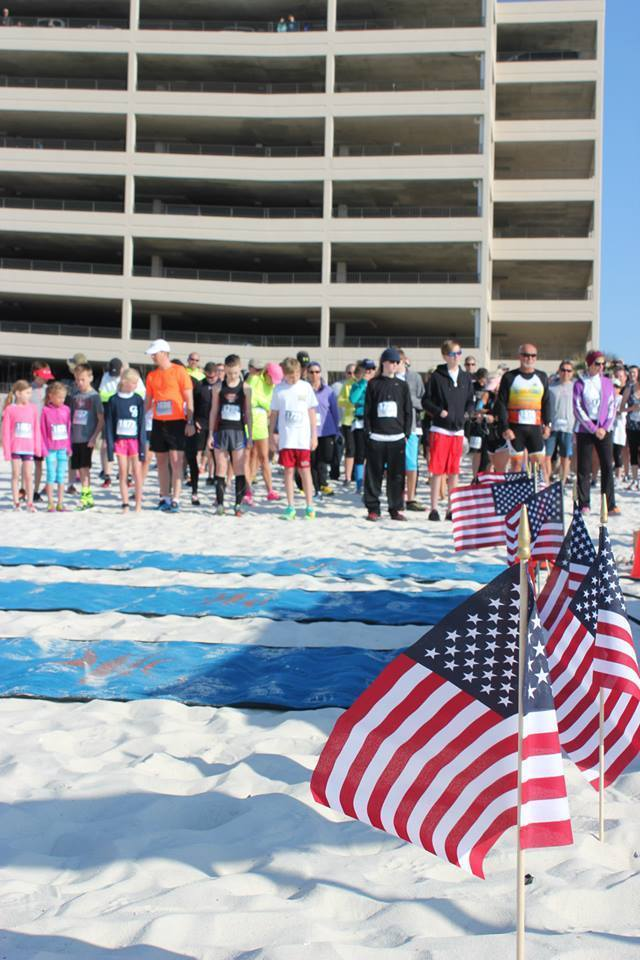 2018 Flora Bama Beach Run Walk for America