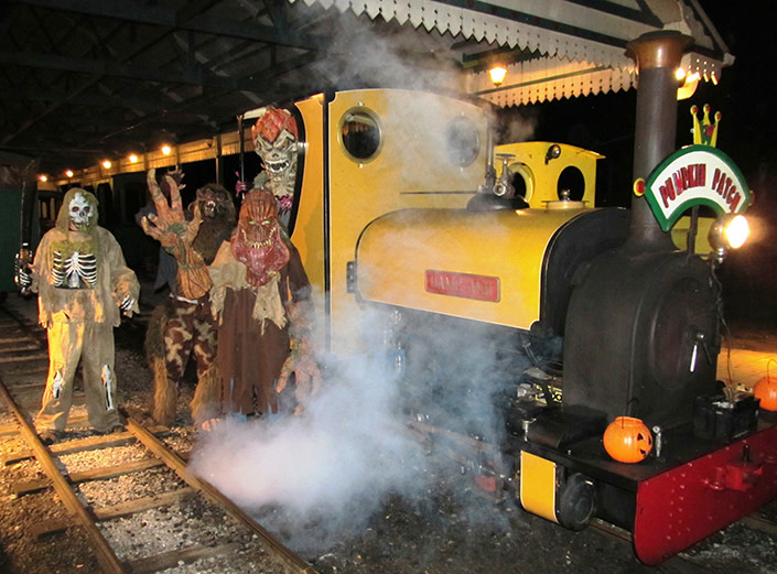 2017 Pumpkin Patch Express and Scary Night Train