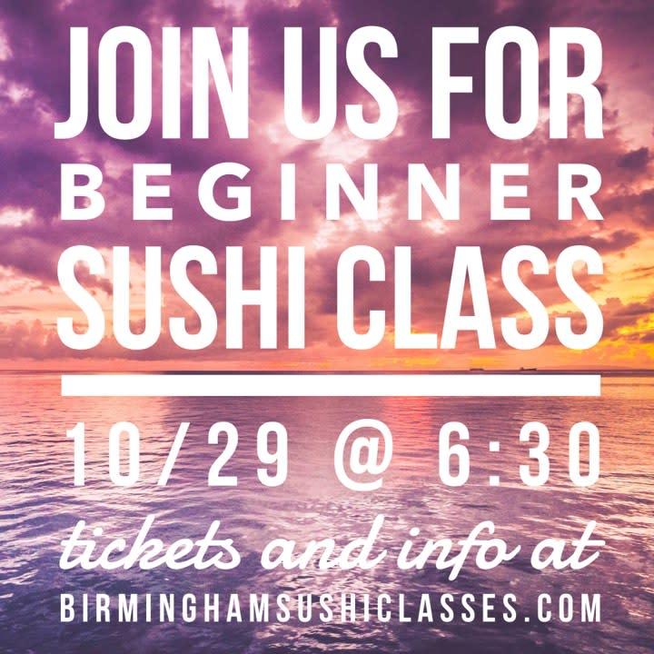 Sushi Classes at Big Beach