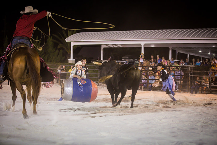 Bulls on the Beach Professional Live Bull Riding