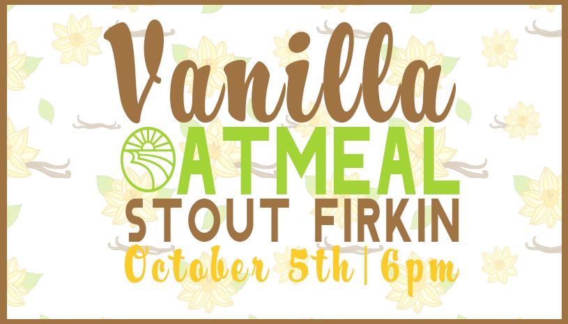 Vanilla Oatmeal Stout Firkin Tapping