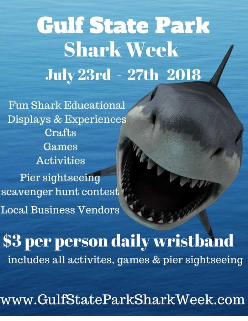 Gulf State Park Shark Week