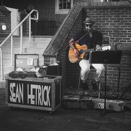 Live Music with Sean Hetrick and $6 Burger