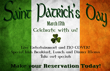 A Traditional Irish St. Patrick's Day Celebration at Killarney House