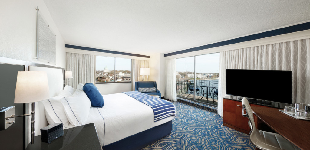 Newly updated guestrooms in downtown Annapolis