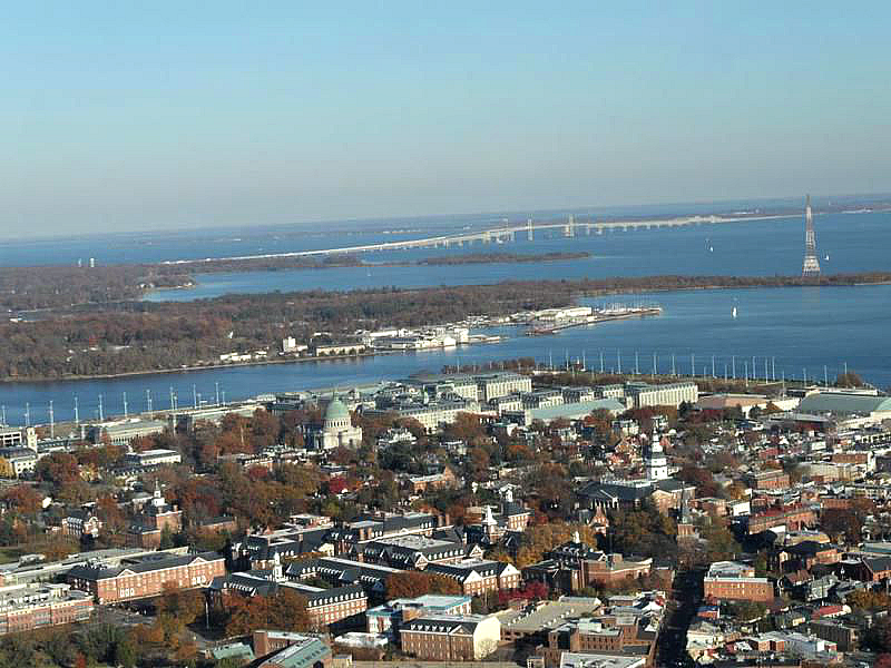 Unique views of Annapolis
