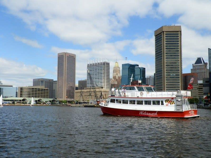 Annapolitan II in the Baltimore Inner Harbor