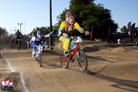 Riding at Chesapeake BMX in Maryland