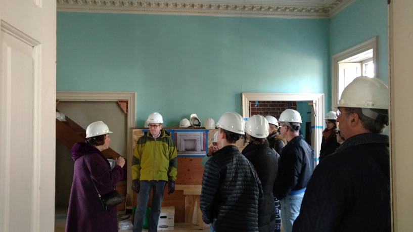 James Brice House Hard Hat Tours