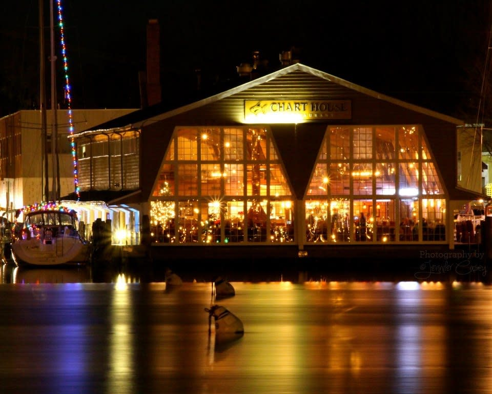 Chart House from Water - XMAS