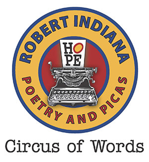 Robert Indiana Poetry and Picas: Circus of Words