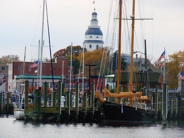 City Dock in Fall