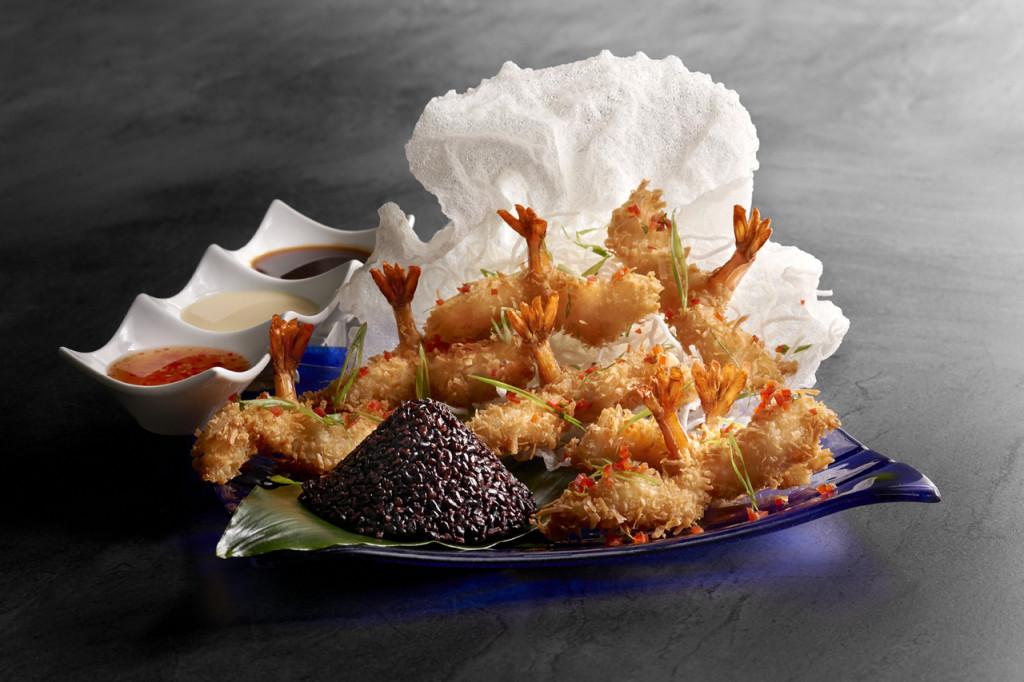 Coconut Shrimp Entree