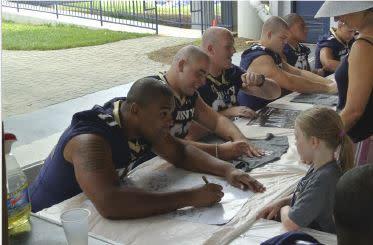 2018 Navy Football Fanfest