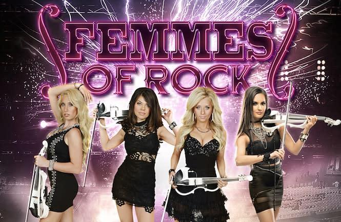 Femmes Of Rock Starring Bella Electric Strings