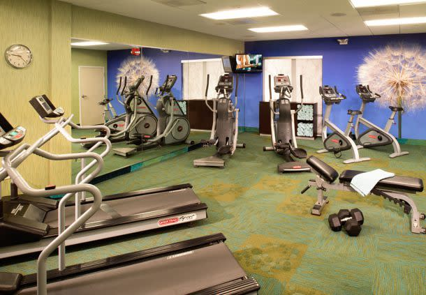Fitness Center Open 24/7