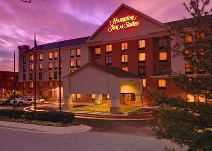 Hampton Inn and Suites Annapolis Hotel Exterior