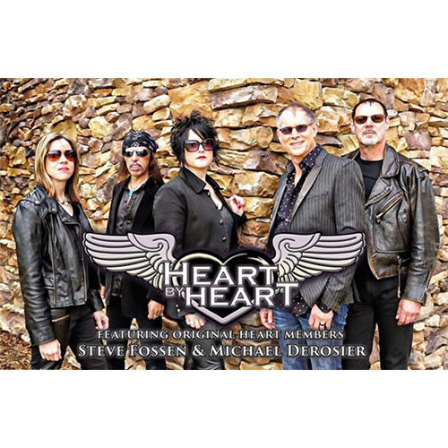 Heart By Heart feat. Original HEART Members Steve Fossen & Michael Derosier