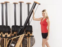 Holding Rower