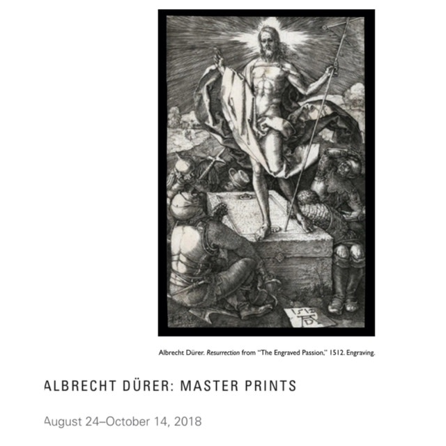 Sunday Afternoon Lecture / Albrecht Dürer: Master Prints