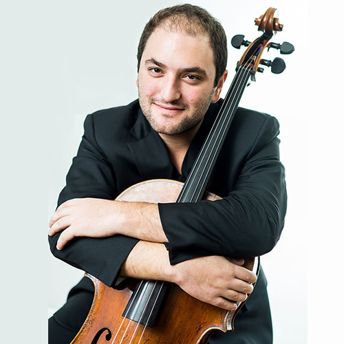 Cellist Julian Schwarz with the Annapolis Symphony Orchestra