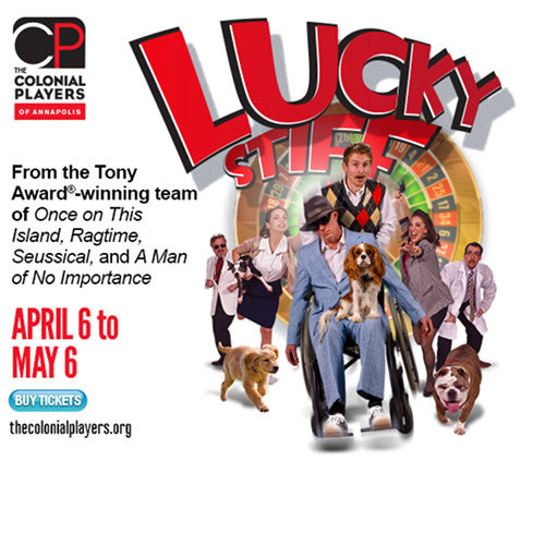 Lucky Stiff, a musical by Ahrens and Flaherty