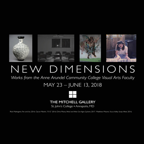 New Dimensions: Works from the Anne Arundel Community College Visual Arts Faculty