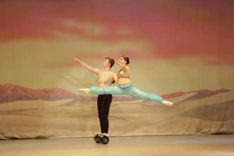 The Ballet Theatre of Maryland presents Aladdin