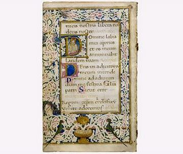 Painted Pages: Illuminated Manuscripts, 13th–18th Centuries