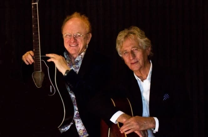 PETER & JEREMY: Peter Asher of Peter & Gordon and Jeremy Clyde of Chad & Jeremy