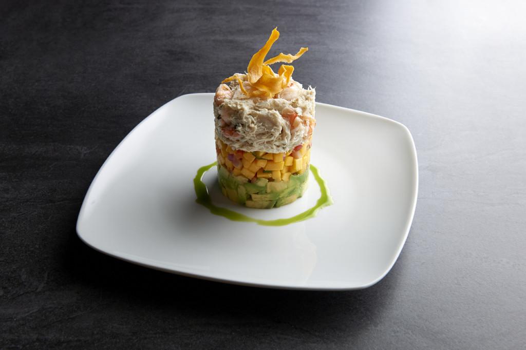 Shrimp-Crab Stack