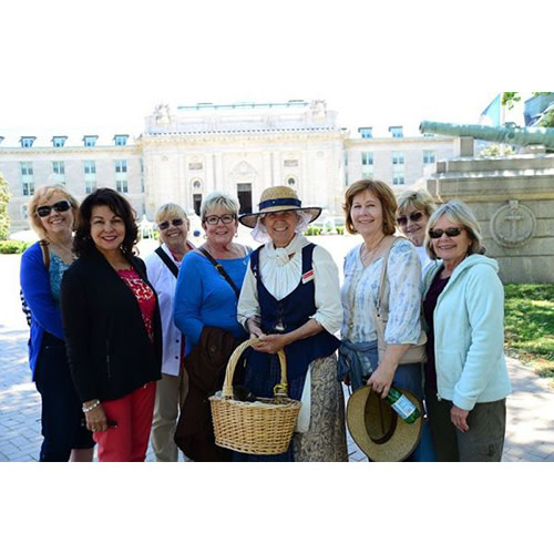 Four Centuries Walking Tour at 1:30 PM