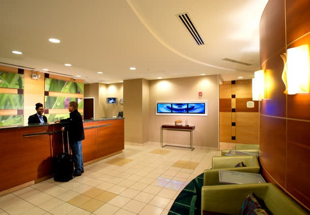 Welcome to SpringHill Suites, we've been expecting you! Marriott Mobile Check-in!