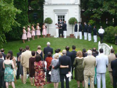 William Paca House and Gardens - Wedding photo