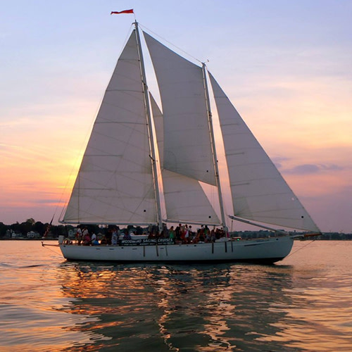 History Monday Sunset Sail