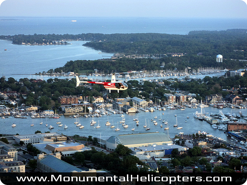 Fly the Skies of Annapolis and the Chesapeake Bay