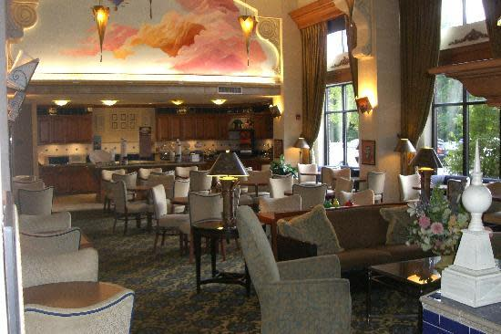 Complimentary Breakfast Buffet Area