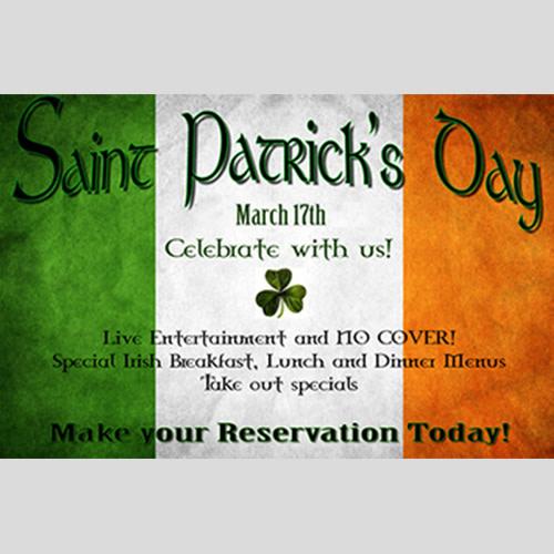 A Traditional Irish St. Patrick's Day Celebration! at Brian Boru