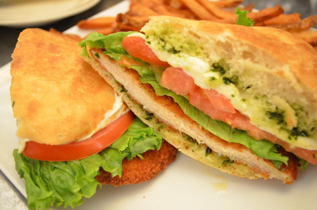 Chicken Milanese Sandwich