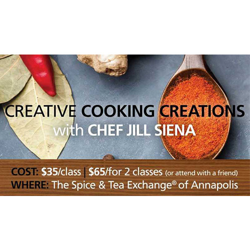Easy Cooking Creations Class - Live & Local