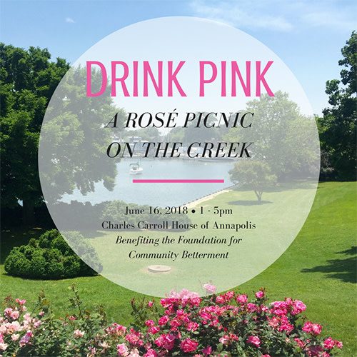 Drink Pink, A Rosé Picnic on the Creek