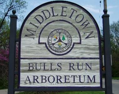 Bull's Run Sign